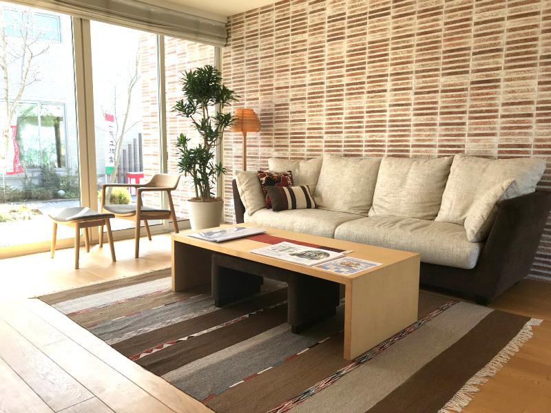 【モデルルーム】広島で観葉植物のレンタルした設置事例